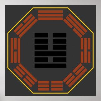 "I Ching Hexagram 36 Ming I ""Brightness Hiding"" Print"