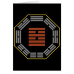 """I Ching Hexagram 38 K'uei """"Opposition"""" Greeting Card"""