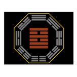 """I Ching Hexagram 38 K'uei """"Opposition"""" Postcard"""