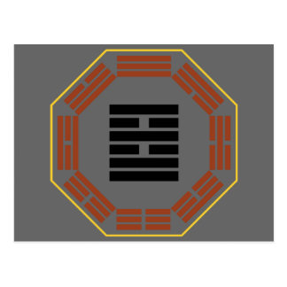 "I Ching Hexagram 38 K'uei ""Opposition"" Postcard"