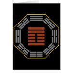 """I Ching Hexagram 42 I """"Increase"""" Card"""