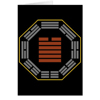 "I Ching Hexagram 43 Kuai ""Breakthrough"" Card"