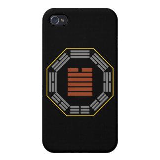 "I Ching Hexagram 43 Kuai ""Breakthrough"" Case For iPhone 4"