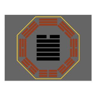 "I Ching Hexagram 43 Kuai ""Breakthrough"" Postcard"