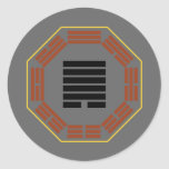 "I Ching Hexagram 44 Kou ""Meeting"" Round Stickers"