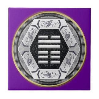I ching hexagram 45 ceramic tiles
