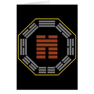 "I Ching Hexagram 45 Ts'ui ""Gathering"" Card"