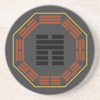 "I Ching Hexagram 45 Ts'ui ""Gathering"" Coasters"