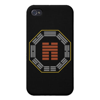 """I Ching Hexagram 45 Ts'ui """"Gathering"""" Cover For iPhone 4"""