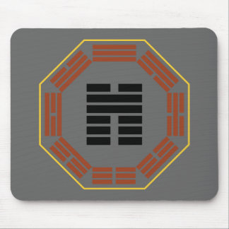 "I Ching Hexagram 45 Ts'ui ""Gathering"" Mouse Pad"