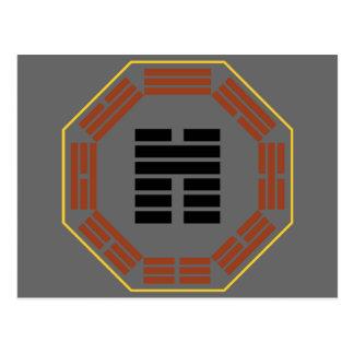 "I Ching Hexagram 45 Ts'ui ""Gathering"" Postcard"