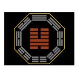 "I Ching Hexagram 46 Sheng ""Ascending"" Postcard"