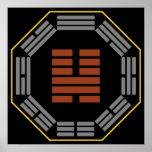 """I Ching Hexagram 46 Sheng """"Ascending"""" Poster"""