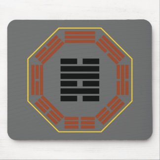 """I Ching Hexagram 47 K'un """"Oppression"""" Mouse Pad"""
