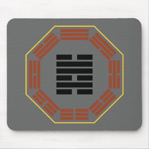 "I Ching Hexagram 47 K'un ""Oppression"" Mousepad"