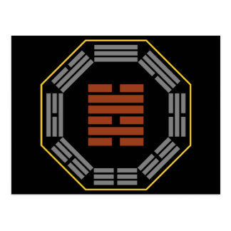 "I Ching Hexagram 47 K'un ""Oppression"" Postcard"