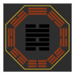 """I Ching Hexagram 47 K'un """"Oppression"""" Posters"""