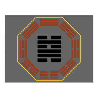 "I Ching Hexagram 48 Ching ""The Well"" Postcard"