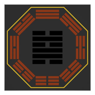 """I Ching Hexagram 48 Ching """"The Well"""" Poster"""