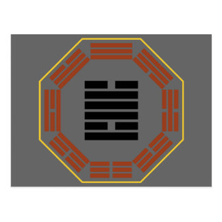"I Ching Hexagram 49 Ko ""Revolution"" Postcard"
