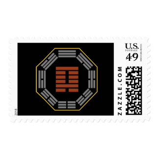 "I Ching Hexagram 4 Meng ""Innocence"" Postage Stamp"