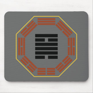 """I Ching Hexagram 50 Ting """"The Cauldron"""" Mouse Pad"""