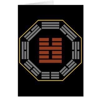 "I Ching Hexagram 51 Chen ""The Arousing"" Card"