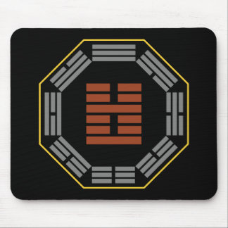 """I Ching Hexagram 51 Chen """"The Arousing"""" Mouse Pad"""