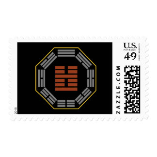 "I Ching Hexagram 51 Chen ""The Arousing"" Postage Stamp"