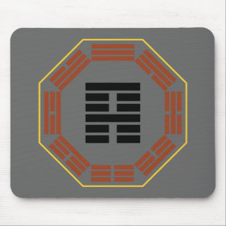 "I Ching Hexagram 52 Ken ""Keeping Still"" Mouse Pad"