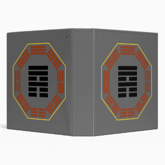 "I Ching Hexagram 53 Chien ""Development"" 3 Ring Binder"