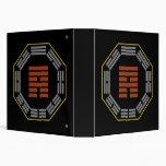 """I Ching Hexagram 53 Chien """"Development"""" Vinyl Binder"""