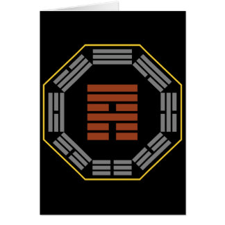 "I Ching Hexagram 53 Chien ""Development"" Card"