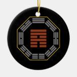 "I Ching Hexagram 53 Chien ""Development"" Christmas Ornament"