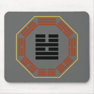 """I Ching Hexagram 54 Kuei Mei """"The Marrying Maiden"""" Mouse Pad"""
