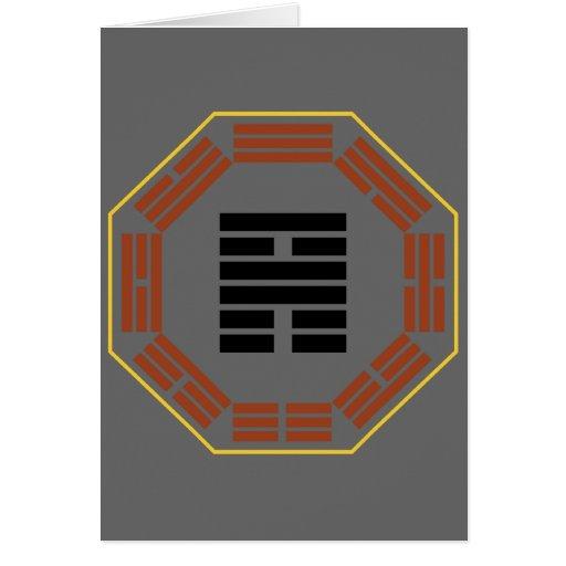 "I Ching Hexagram 56 Lu ""Traveling"" Card"
