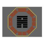 "I Ching Hexagram 56 Lu ""Traveling"" Post Card"