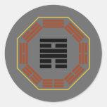 """I Ching Hexagram 56 Lu """"Traveling"""" Sticker"""