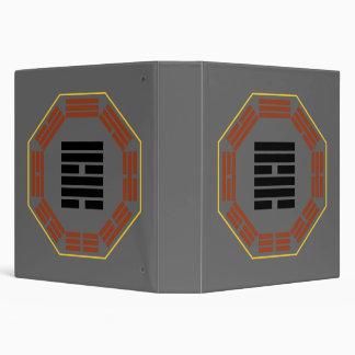 "I Ching Hexagram 57 Sun ""Gentle Wind"" 3 Ring Binder"