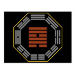 "I Ching Hexagram 57 Sun ""Gentle Wind"" Post Card"