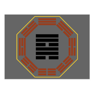 "I Ching Hexagram 57 Sun ""Gentle Wind"" Postcard"