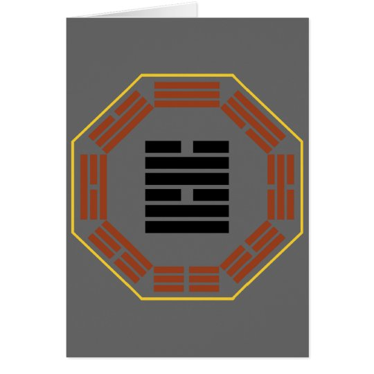 "I Ching Hexagram 58 Tui ""Joy"" Card"