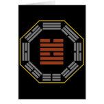 "I Ching Hexagram 58 Tui ""Joy"" Greeting Cards"