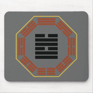 """I Ching Hexagram 58 Tui """"Joy"""" Mouse Pad"""