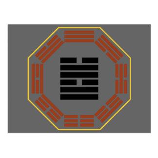 "I Ching Hexagram 58 Tui ""Joy"" Postcard"