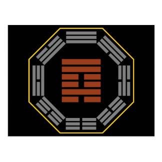 "I Ching Hexagram 59 Huan ""Dispersion"" Postcard"
