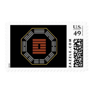 "I Ching Hexagram 61 Chung Fu ""Inner Truth"" Postage Stamp"