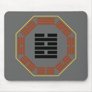 """I Ching Hexagram 63 Chi Chi """"After Completion"""" Mouse Pad"""