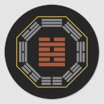 "I Ching Hexagram 63 Chi Chi ""After Completion"" Stickers"