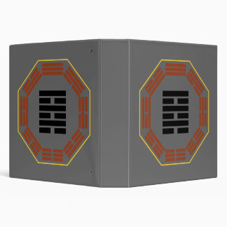 """I Ching Hexagram 64 Wei Chi """"Before Completion"""" Binder"""